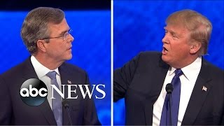 Trump Elicits Boos After Spat With Bush [Republican Debate Highlights]