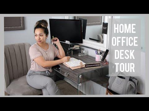 I Can't Say No + Home Goods Haul + Home Desk Tour   VLOG