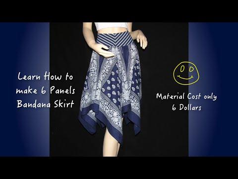 How to make skirt