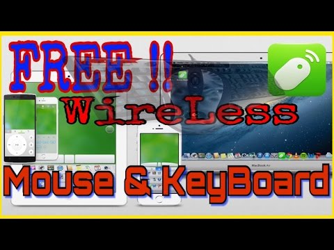Turn Your Phone Into A Wireless Mouse & Keyboard For Your Computer
