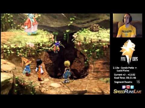 FF9 Excalibur II Perfect Game | 2.13a - Bug Catching with Eiko!