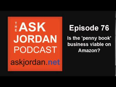 Ep 76 - Does the 'penny book' business on Amazon make good money?