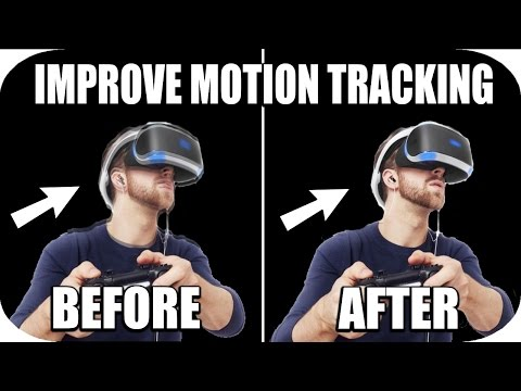 PSVR Headset - How To Make The Motion Tracking Smoother/Better! (Tutorial)