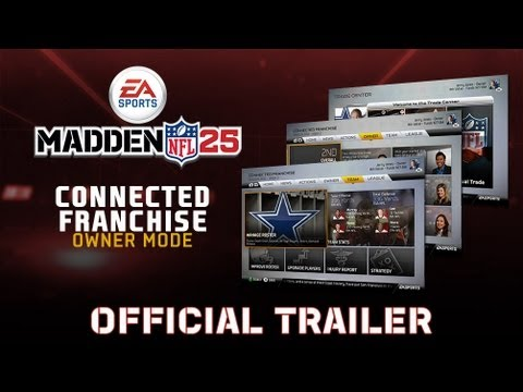Madden 25 Connected Franchise Trailer featuring Owner Mode