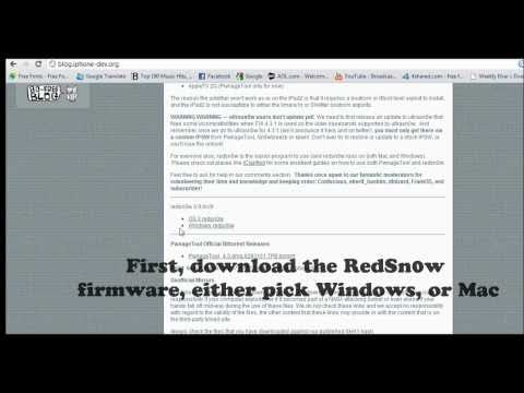 How To: Untethered 4.3.1 Jailbreak - iPhone 4, 3GS, iPad 1, iPod touch 4, 3G w/ Redsn0w