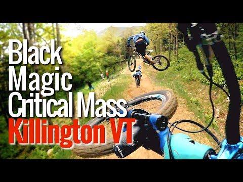 Black Magic jump trail train at Killington Resort | Thrills with Phil