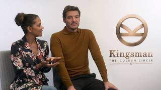 Kingsman: The Golden Circle: Halle Berry & Pedro Pascal Interview