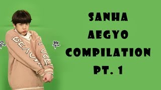 ASTRO [아스트로] Sanha Aegyo Compilation Pt. 1