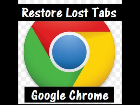 Restore Recently Closed Tabs in Google Chrome Browser