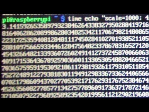 Happy Pi Day! Calculating Pi on a Raspberry Pi
