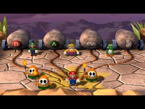 Mario Party 4 - All 1-vs-3 Minigames