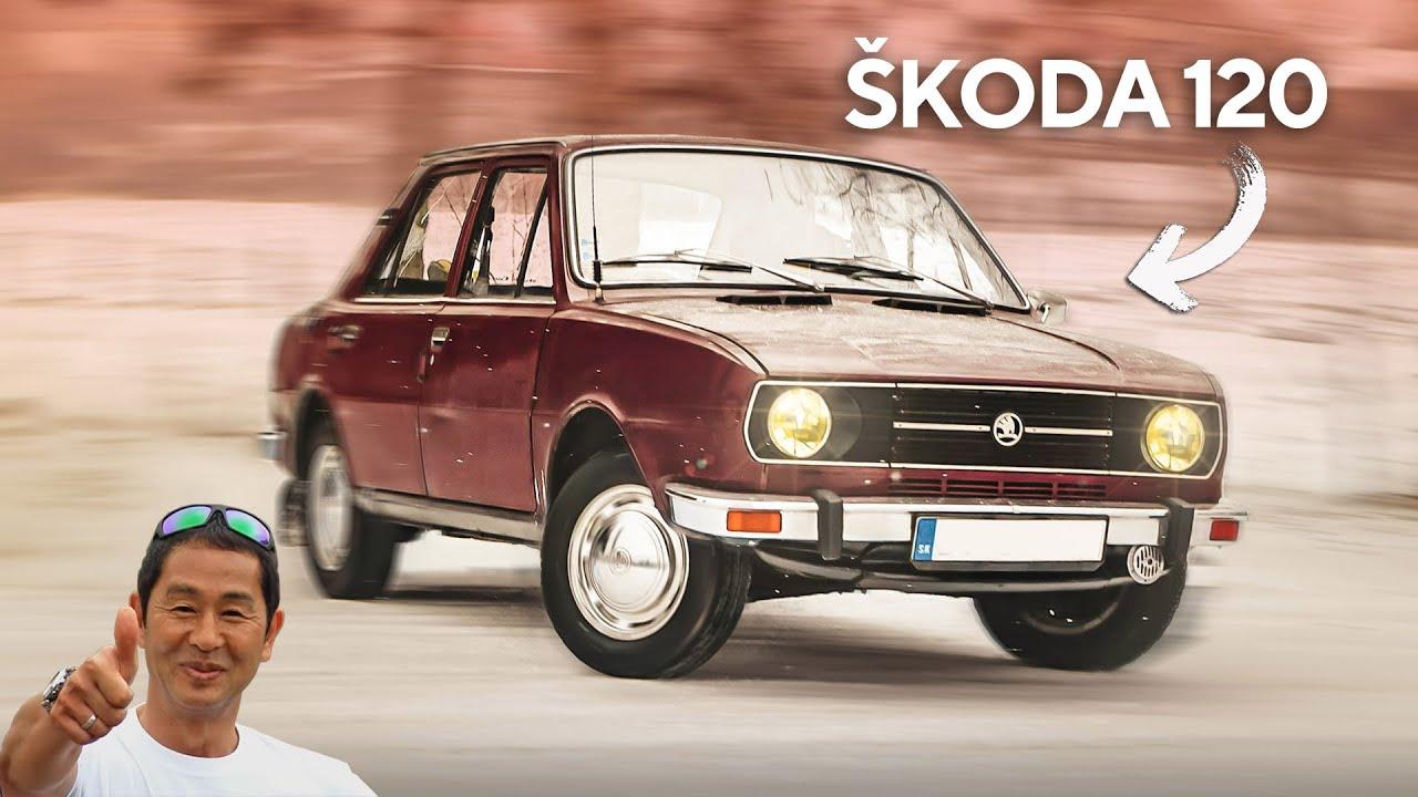 Škoda 120 - takto driftovali naši dedovia - volant.tv
