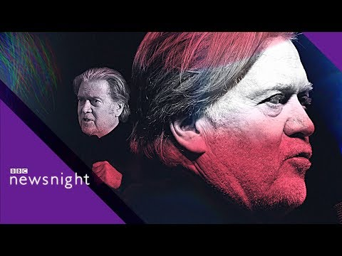 Steve Bannon: 'Martin Luther King would be proud of Trump' - BBC Newsnight