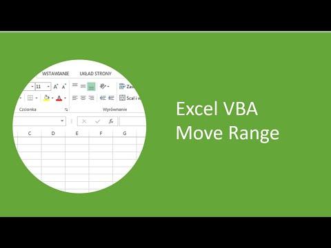 Excel VBA - Move Range