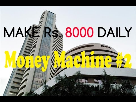 Profit Rs8000 Intraday trading LIVE Money Machine| Vlog-4
