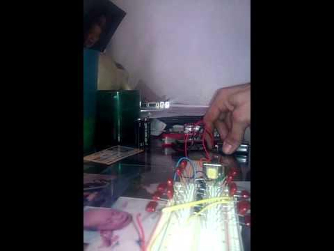 Stun gun circuit with 555 timmer in progress...