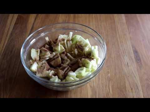 Spiced Pear Crumble