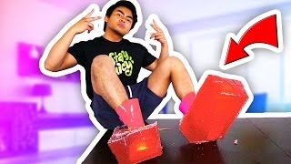 DIY GIANT GUMMY SHOES!