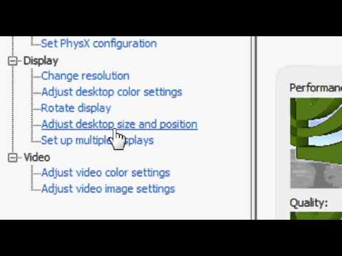 How to make your video games play Full Screen on your PC with Nvidia GEFORCE graphic card