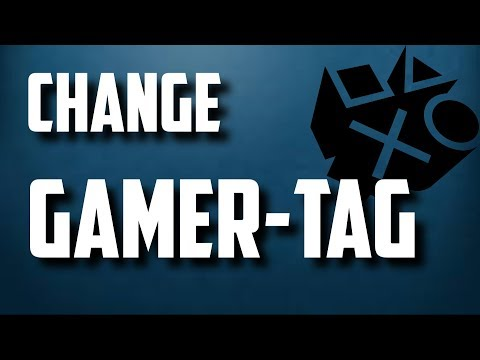 How To Change Your PlayStation GamerTag 2017