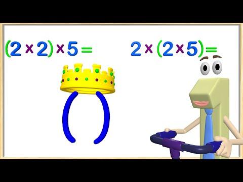 Multiplication Associative Property 3rd Grade - Math Videos for Kids