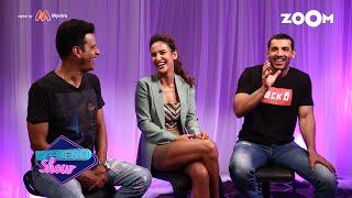 Satyamev Jayate Stars John Abraham, Manoj Bajpayee & Aisha Sharma | Interview & Movie Review
