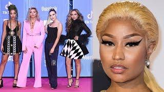 Little Mix Make Nicki Minaj CRY With Sweet 2018 EMAs Gift