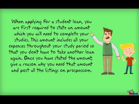 how to get peer to peer student loan