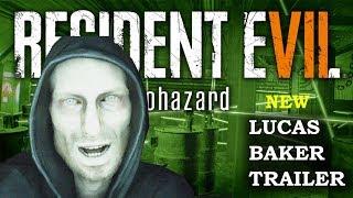 Resident Evil 7 Not A Hero New Trailer | Lucas Baker & New Enemies