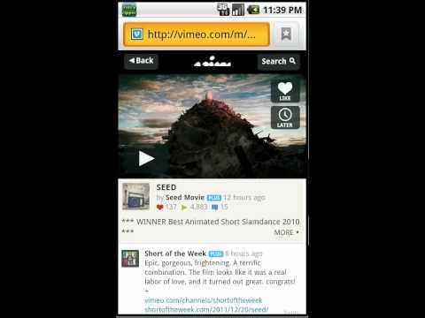 Video Ripper for Android : Clipboard Checker demo
