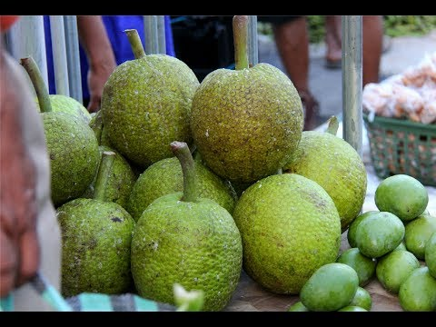 How To Roast A Breadfruit On Your Outdoor Grill | #FoodFAQ