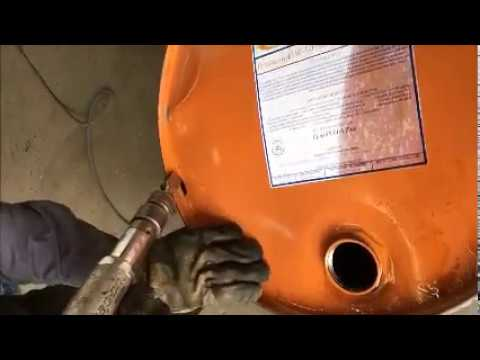 How to Open/Remove a 55 GALLON Barrel Lid using THE DRUM CUTTER