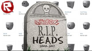 Rip Roblox Heads Top 5 Worst Hats In Roblox