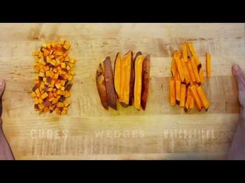 How To Cut Sweet Potatoes