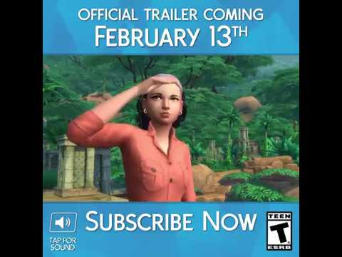 The Sims 4 Jungle Adventure: Official Trailer Teaser (English)