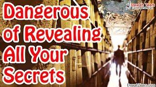 Dangerous of Revealing All Your Secrets ᴴᴰ ┇Mufti  Menk┇ Dawah Team