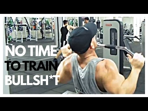 DON'T  have time to TRAIN ? TRY THIS  30 mins BODYBUILDING  WORKOUT