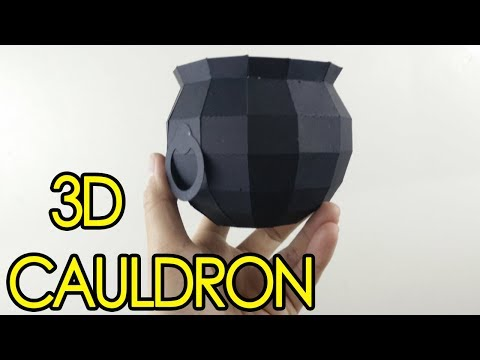 [Tutorial + Template] 3D Cauldron