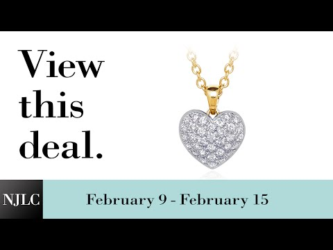 Deal of the Week: Diamond Heart Pendant