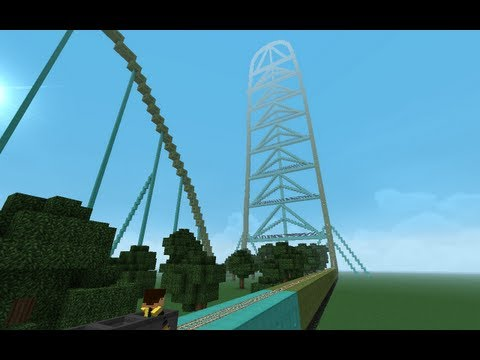 Minecraft - KingDa Ka - Rideable!!