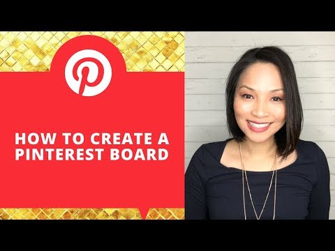 How to create a Pinterest Board   Pinterest Tutorial