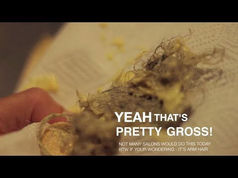 The disgusting past of beauty - RECYCLING wax gross
