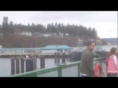 To Whidbey Island Washington  on the  Ferry