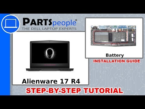 Dell Alienware 17 R4 (P12S001) Battery How-To Video Tutorial