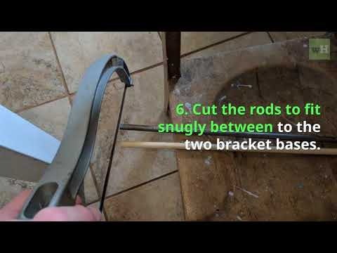 How to Make and Install Kitchen Cabinet Curtains
