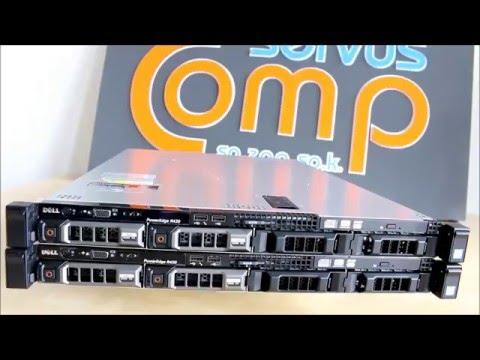 2 x Serwer Dell PowerEdge R430 Servus Comp