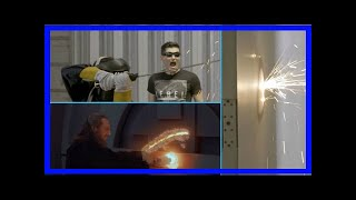 Breaking News   New science and star wars show launches with plasma lightsaber build