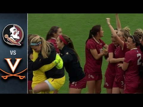 Florida State vs. Virginia 2015 ACC Women's Soccer Championship Highlights