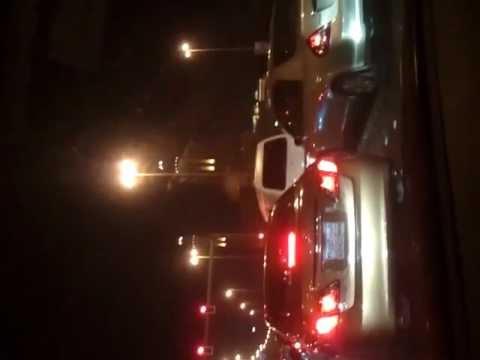 Driving at night in Manama Bahrain