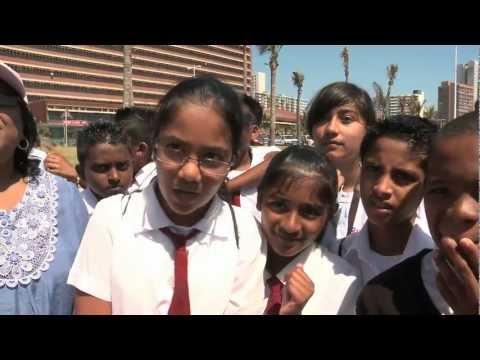 Africa Roars - Local Schoolchildren make a bold statement - COP17 Durban, South Africa